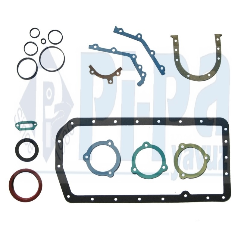 BOTTOM END GASKET SET WITH SEALS