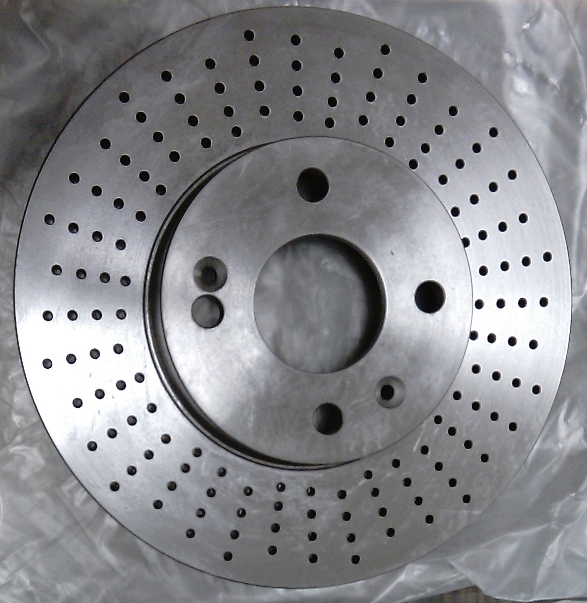 AIR COOLED BRAKE DISC